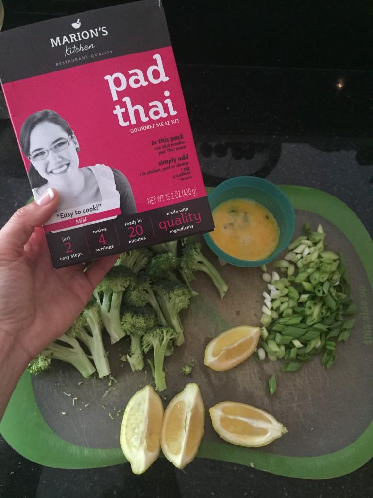 pad thai, chicken, dinner, yum, Marion's Kitchen