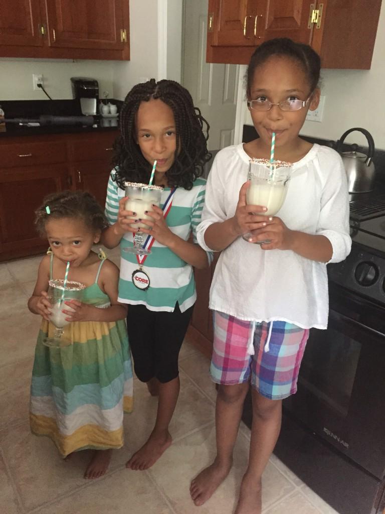 milkshakes, real simple, yummy